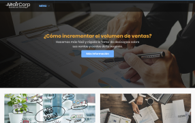 Sitio web Altair Corp