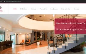 Home sitio web Hotel Terraza