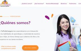 Proyecto web TuProfeCanguro