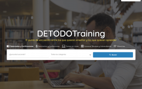Sitio web DETODOTraining.com