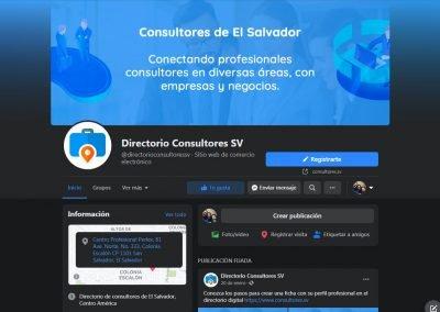 Branding redes sociales de Consultores SV