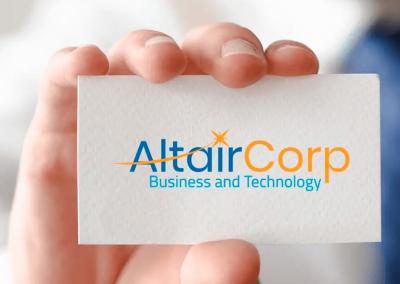 Identidad corporativa Altair Corp