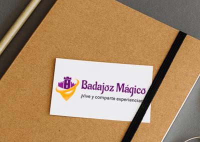 Identidad corporativa Badajoz Mágico