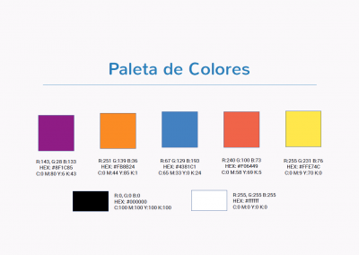TuProfeCanguro | Paleta de colores