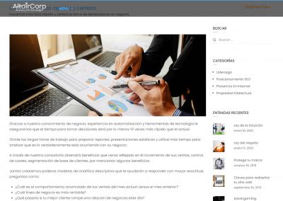 altair-corp.com | Página de servicios