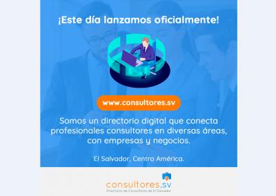 consultores.sv | Diseño publicación Facebook