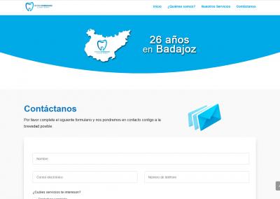dentista-badajoz.es | Contáctanos