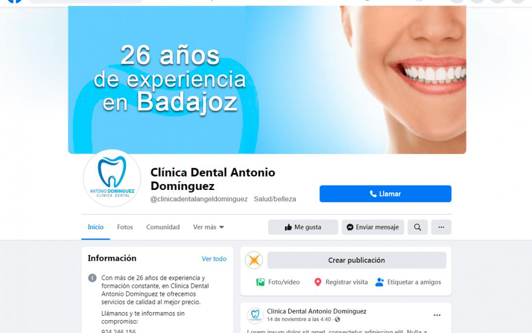 Branding RRSS Clínica Dental Antonio Domínguez