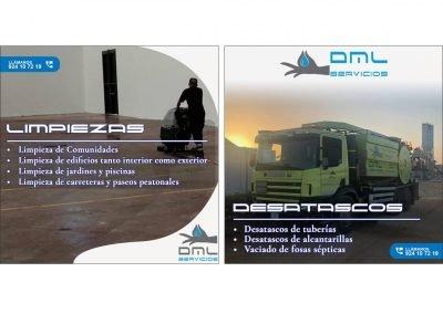 DML Servicios | Publicaciones Facebook