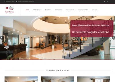 Desarrollo de sitio web terraza.com.sv