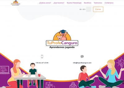 tuprofecanguro.es | Pie de página (footer)