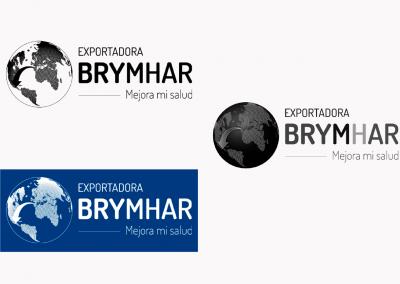 Exportadora BRYMHAR   Variantes del logotipo