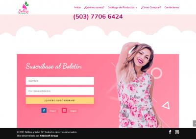Belleza y Salud SV | Suscripción al boletín