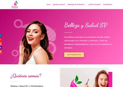 Belleza y Salud SV | Página de inicio