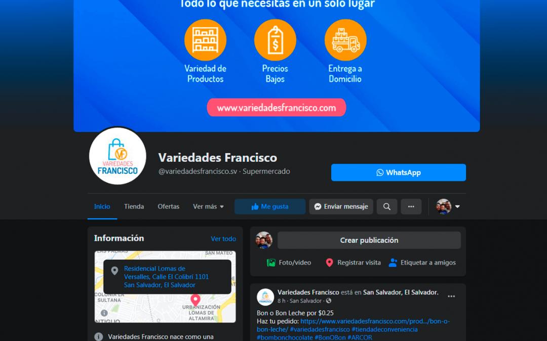 Variedades Francisco | Fanpage Facebook