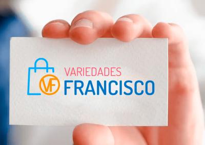 Identidad corporativa Variedades Francisco