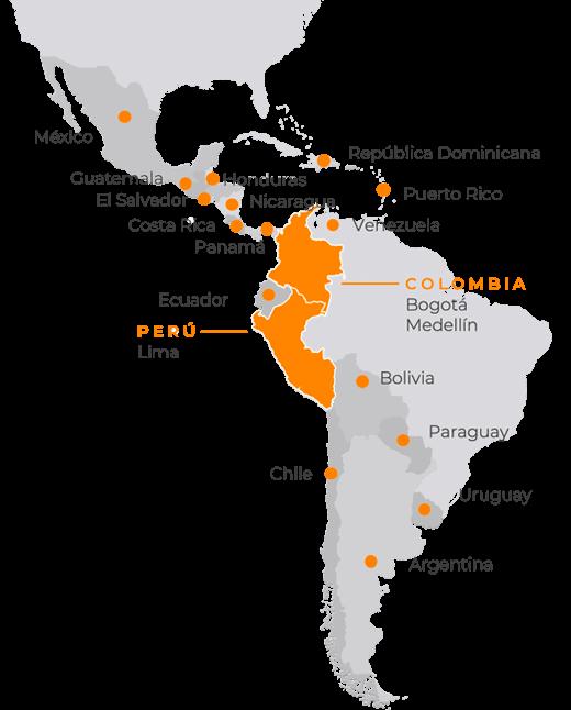 Mapa de cobertura Q10