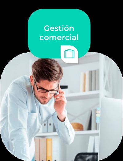 Módulo de Gestión Comercial (CRM)