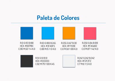 Variedades Francisco   Paleta de colores